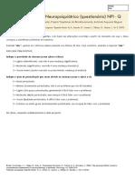 NPI - Inventário Neuro Psiquiatrico