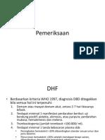 Pemeriksaan DHF