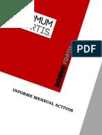 Informe Mensual Activos Fijos