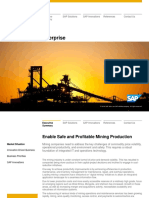 Sap for Mining Brochure
