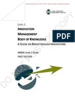 GIM Institute IMBOK Level 1 Guide v1.3 - Innovation Olympics Participant...