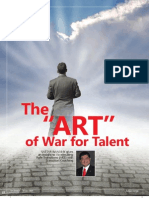 DBM Article in Human Capital - 'the ART of War for Talent' - Vol 10 Issue 1 - Jan 2010