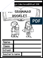 My Grammar Booklet 2018