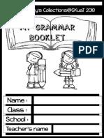 My Grammar Booklet 2018
