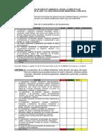 Categorización de Impacto Ambiental Según La Directiva de Concordancia Entre El Snip y El Seia