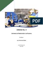 Material Didactico 4 - Sistemas de Fabricacion y de Plantas