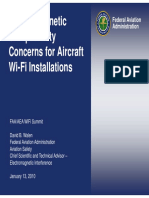 EMC Concerns for Aircraft WiFi Installations
