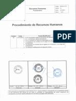 Procedimiento AM GA C P 01 Recursos Humanos v04