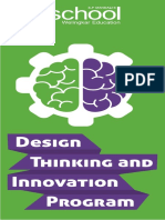 Design Thinking and Innovation Brochure