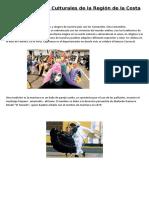 Manifestaciones Cdfgffghfhfulturales de La Región de La Costa