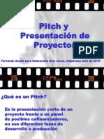 Pitch para presentación de proyectos