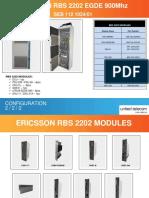 Ericsson RBS2202 EDGE 900Mhz Cabinet