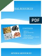 Mineral Resources Seminar
