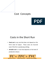 Class 15- Cost Concepts