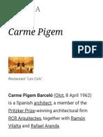 Carme Pigem - Wikipedia
