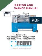 t999 User Manual
