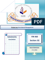 FIN 460 Report