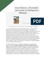 Competencias Básicas y Diversidad - Inteligencias Múltiples