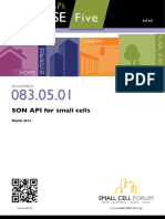 SON API Small Cells
