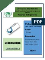 Lab 2 Micrometro esan