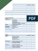 Tabelas Para o Petic