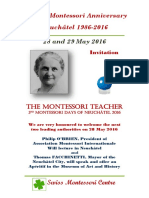30th Montessori Anniversary