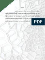 1 Parametric Design