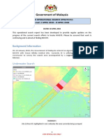 MH370 Operational Search Update #11  Period