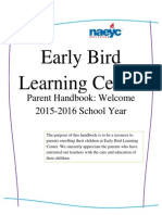 Parent Handbook 2015 - 2016