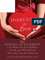 love Anxious Attachment and insecurity