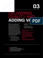 Chapter 3 Delivering Quality and Adding Value