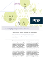 Retaining Key Employees in Times of Change
