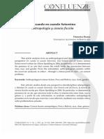 Paola Mancosu, 2017, De cuando en cuando Saturnina; Antropología y ciencia ficción (con Domenico Branca).pdf