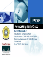 Jaringan Dengan Cisco Router TOP