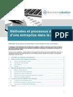 Methode d Evaluation d Une Entreprise
