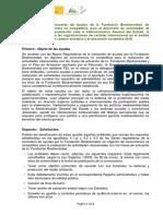 Convocatoria de Ayudas Colaboracion y Representacion