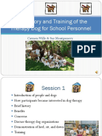 Dog Therapy PowerPoint