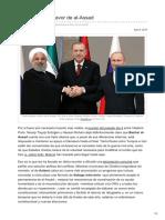 2018.04.09.- Triple Alianza a Favor de Al-Assad