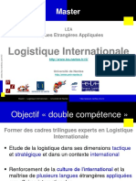 In MasterLogistiqueInternationale