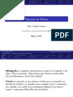 Mercado de Bienes (Modelo Keynesiano) - Lorenzo
