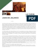 La Cueva de Don Juan en Jalance