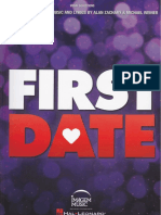 First Date the Musical Vocal Selections-2
