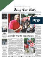 The Daily Tar Heel for September 17, 2010