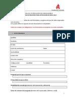 Formulario Inscripción PFF