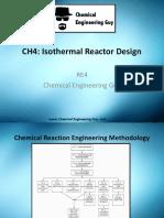 Design Reatores Isotermicos