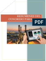 Resumenes Del Congreso Control Automatico II -Dennis Ramos Arias
