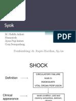 Shock Ayun, Dkk