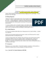 Plagiarism Pledge Fall 2010