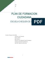 Plan de Formacion Ciudadana 2017.