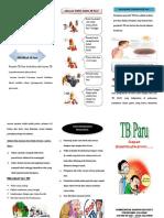 Leaflet TB Paru